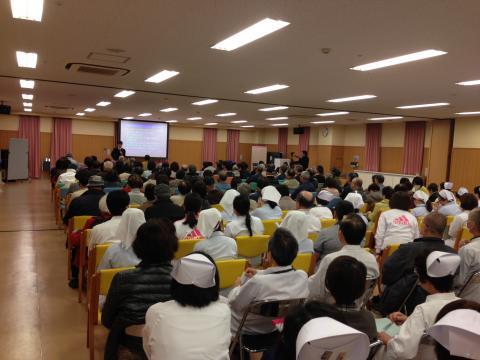 地域健康教室「もの忘れ講習会」の第4回目を開催いたしました。