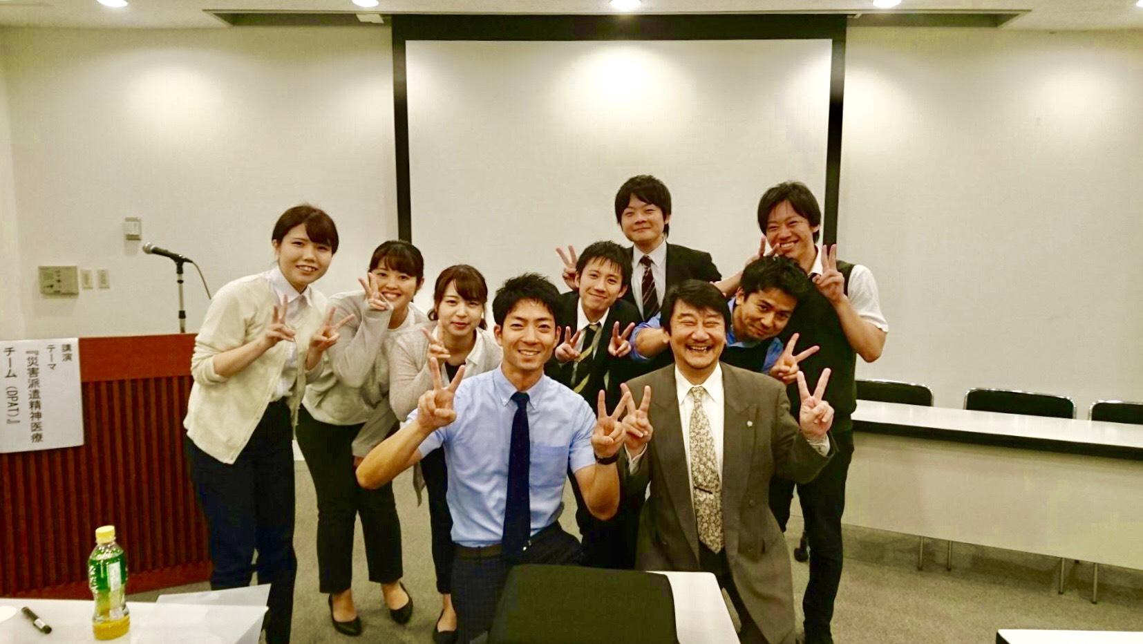 北九州市内でDPAT(災害派遣精神医療チーム)に関する講演をしました
