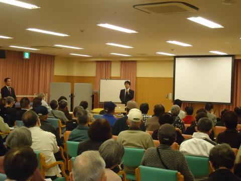 地域健康教室「ものわすれ講演会」の第2回目を開催いたしました。