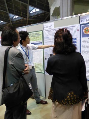 12Th World Congress of Biological Psychiatry(世界生物学的精神医学会)での発表