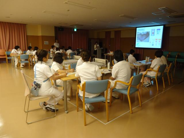 褥瘡対策研修会『褥瘡ケアの基本と褥瘡発生予防に関して』