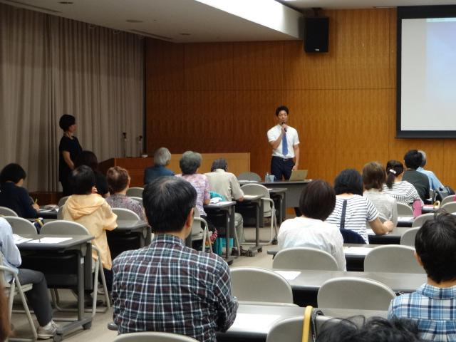認知症の理解と早期発見のポイント」に関する市民講座を行いました