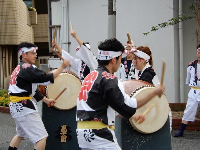 高田町祇園太鼓保存会の皆様が演舞を披露して頂きました!