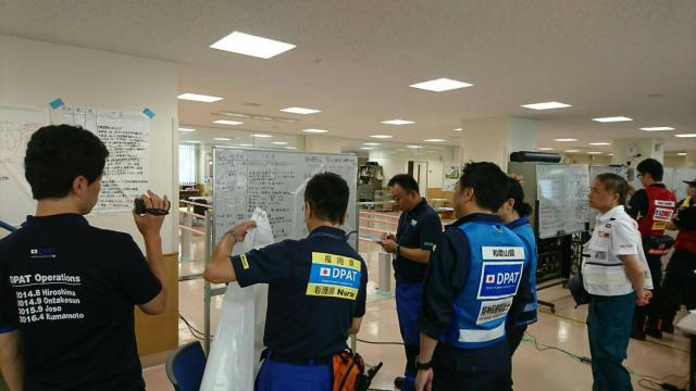 福岡県DPAT活動訓練参加